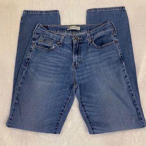 Levi's 505 straight leg jeans size 8L